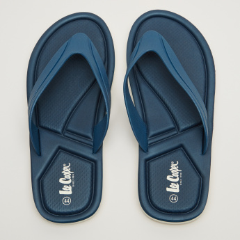 Lee Cooper Textured Thong Flip Flops
