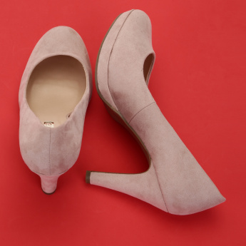 Paprika High Heel Slip-On Shoes