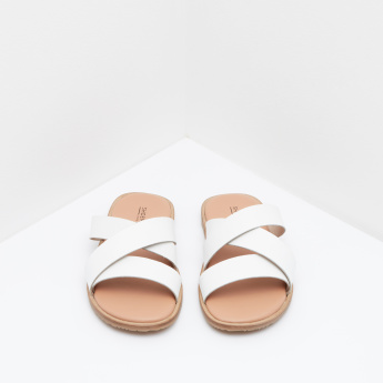 Cross Strap Slides
