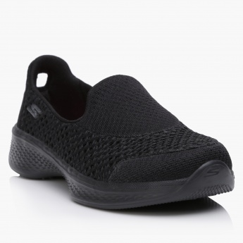 Skechers Girls' Textured Slip On Shoes