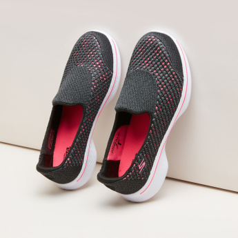 Skechers Textured Slip-On Sneakers
