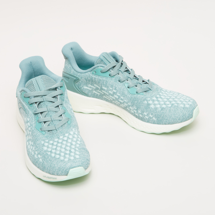 ANTA Women's Lace Detail Textured Sneakers