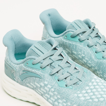 ANTA Lace Detail Textured Sneakers