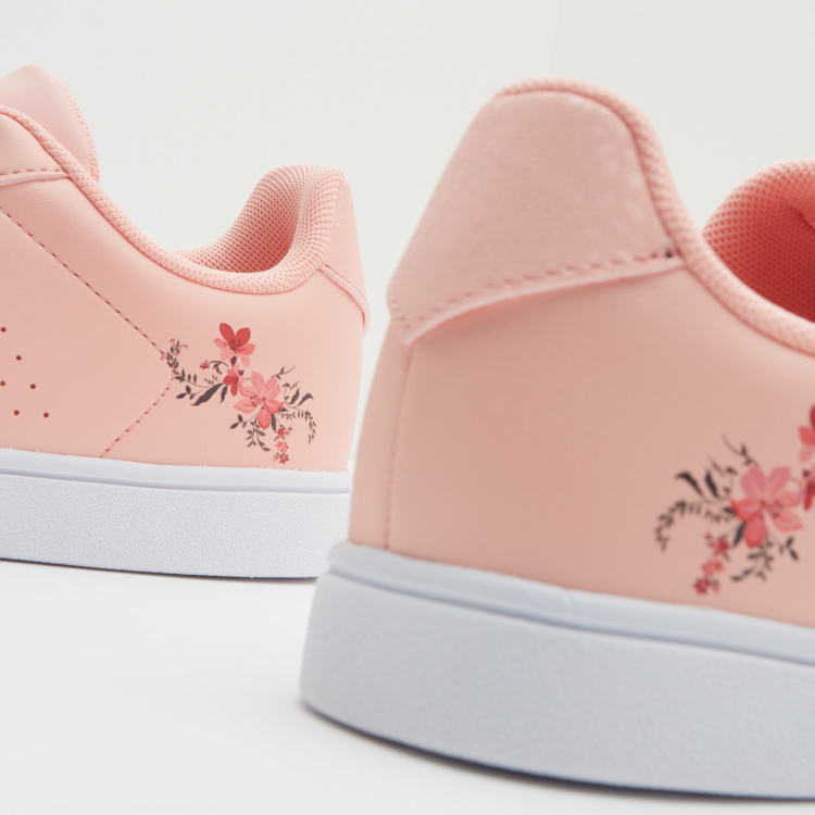 ANTA Floral Printed Low Ankle Sneakers