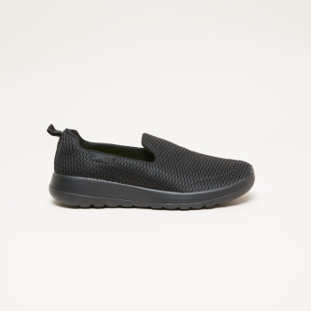 Skechers Boys' Textured Slip On Sneakers