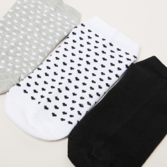 Paprika Assorted Ankle Length Socks - Set of 3