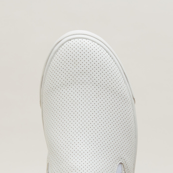 Lee Cooper Perforated Slip-On Shoes