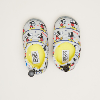 Mickey Mouse Printed Novelty Shoes