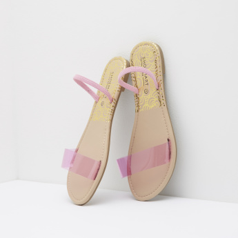 Flats with Elasticated Sling Back Closure