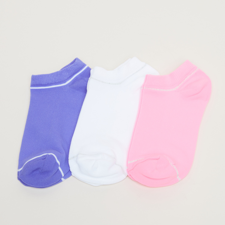 Ankle Length Socks - Set of 3