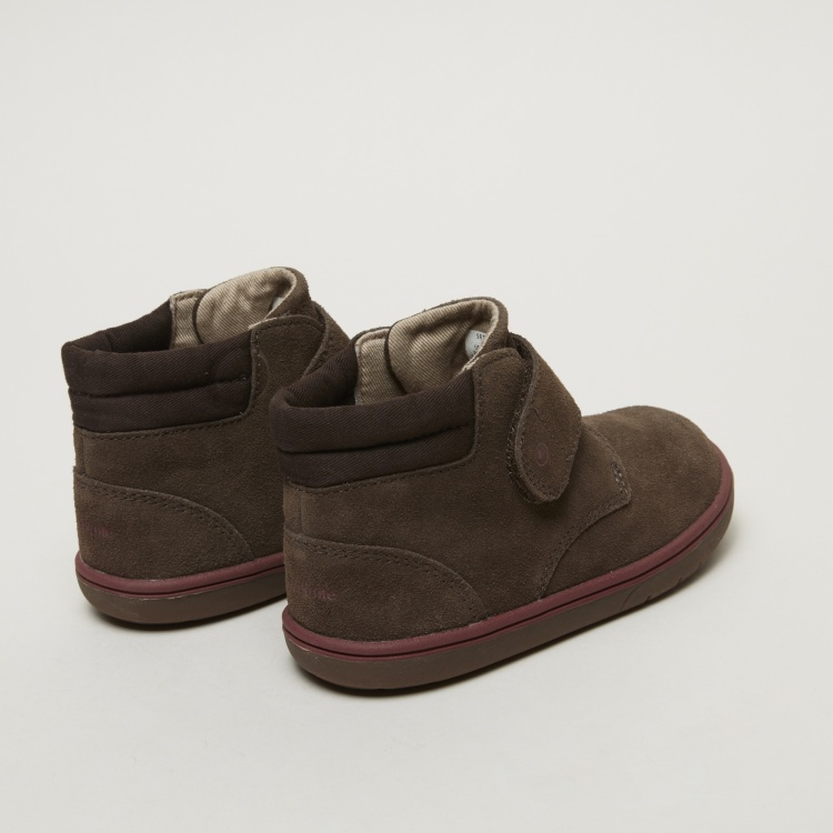 Stride Rite High Top Shoes with Hook and Loop Closure