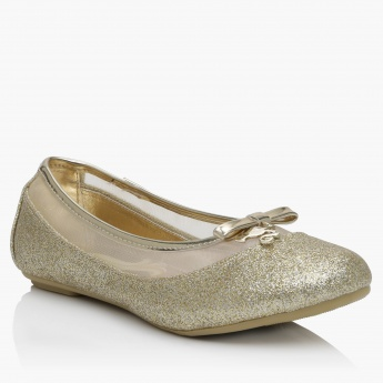 Barbie Slip-On Shimmer Ballerina Shoes