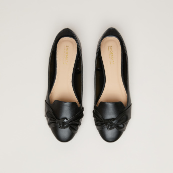 Knot Detail Ballerina Shoes