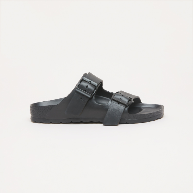 Steve Madden Buckle Closure Slides