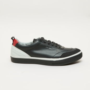 Lee Cooper Stitch Detail Lace-Up Sneakers