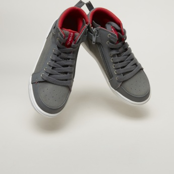 Stride Rite Lace-Up High Top Shoes
