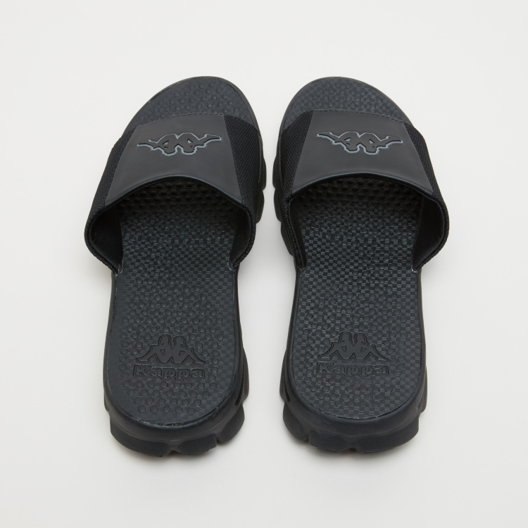 Kappa Logo Applique Detail Slides