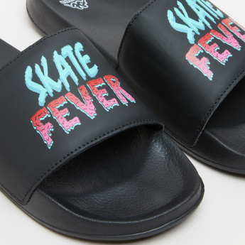 Kappa Slides with Printed Straps