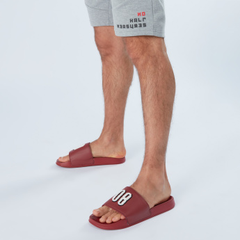 Lee Cooper Slides with Textured Straps