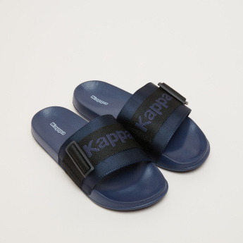 Kappa Slides with Buckle Accent