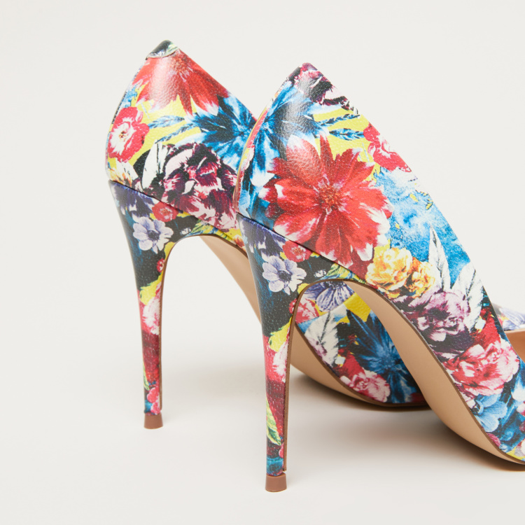 STEVE MADDEN Printed Pumps with Stiletto Heels