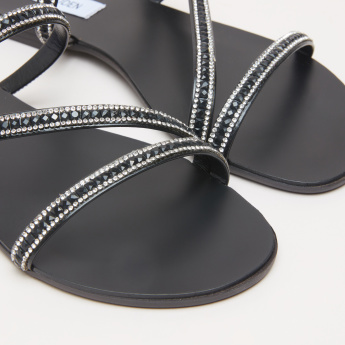 STEVE MADDEN Embellished Multistrap Sandals