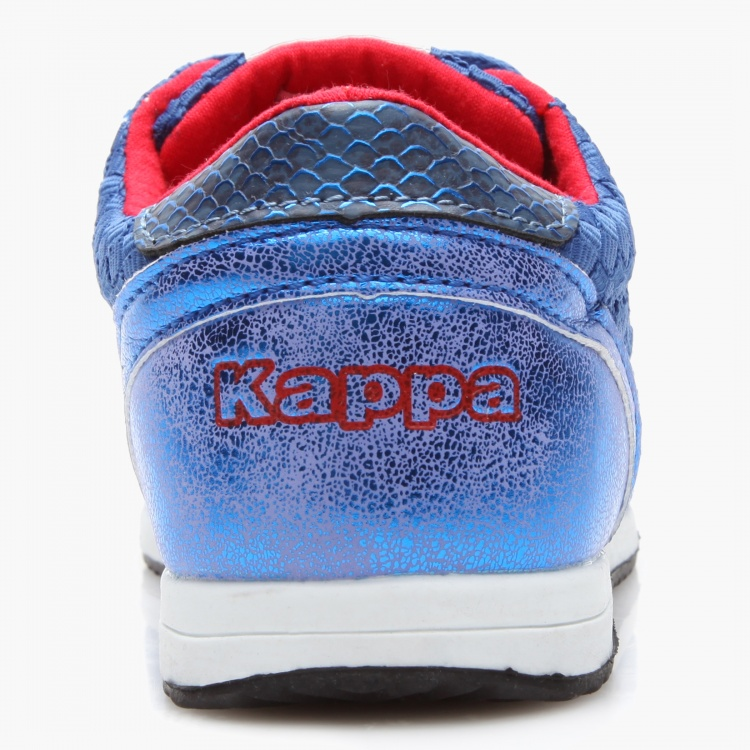 Kappa Textured Lace-Up Sneakers
