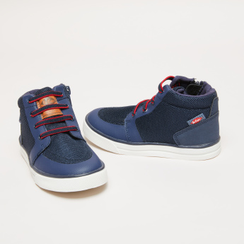 Lee Cooper High Top Sneakers with Zip Closure
