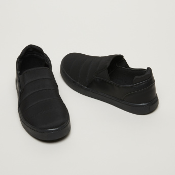 #tag18. Slip-On Sneakers with Gussets