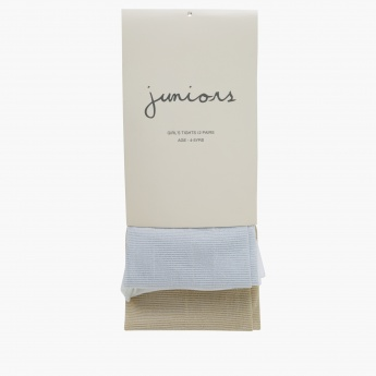 Juniors Full Length Tights - Set of 2