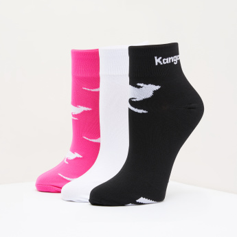 KangROOS Quarter Length Socks - Set of 3