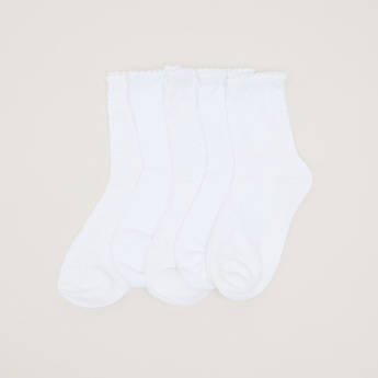 Juniors Quarter Length Socks - Set of 5