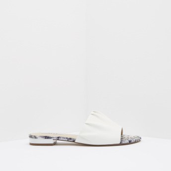 ELLE Printed Slip-On Slides