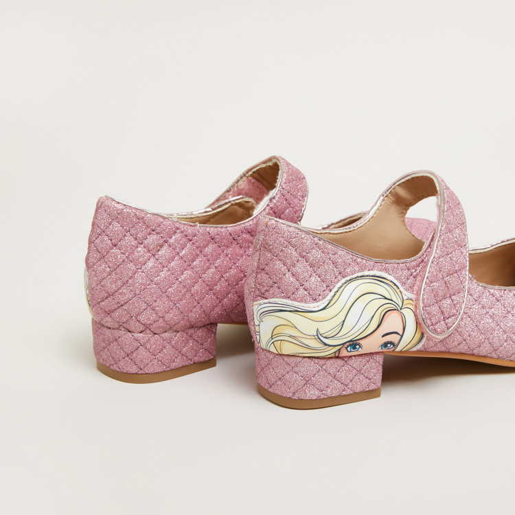 Barbie Printed Mary Jane Shoes