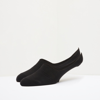 Duchini Textured No Show Socks