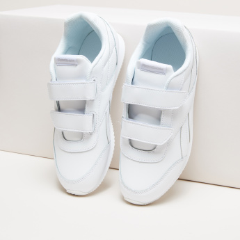 Reebok Stitch Detail Shoes with Hook and Loop Closure