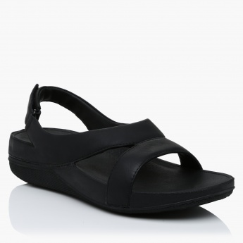 FitFlop Slip-On Slides with Hook and Loop Closure