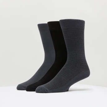ELLE Crew Length Socks - Set of 3