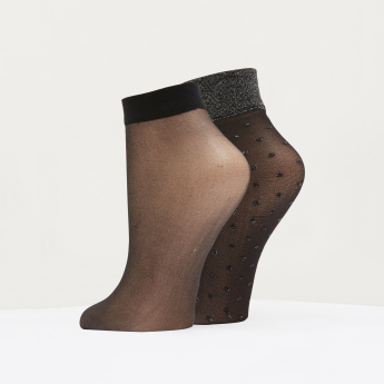 ELLE Ankle Length Socks - Set of 2