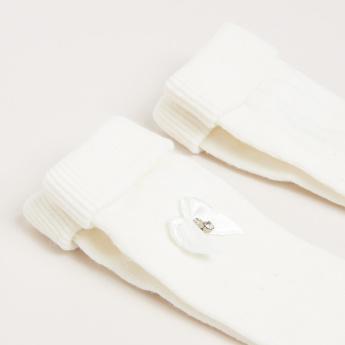 Assorted Ankle Length Socks - Set of 2