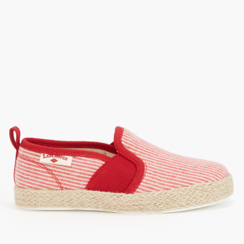 Lee Cooper Espadrille Slip-On Shoes with Elasticised Gussets