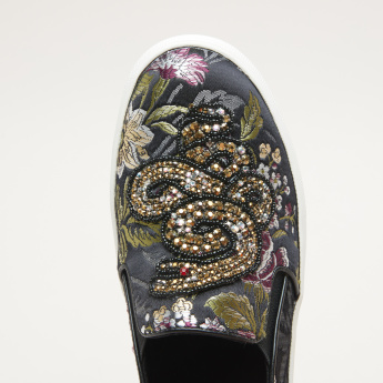 STEVE MADDEN Floral Printed FIASCO Shoes
