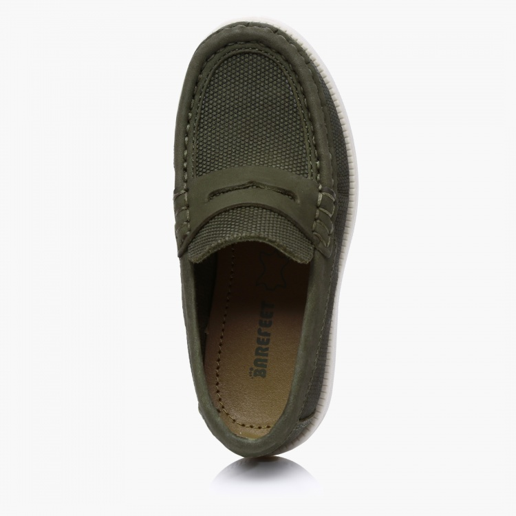 Barefeet Textured Slip-On Shoes
