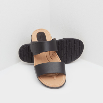 Slide Sandals with Slip-On Closure