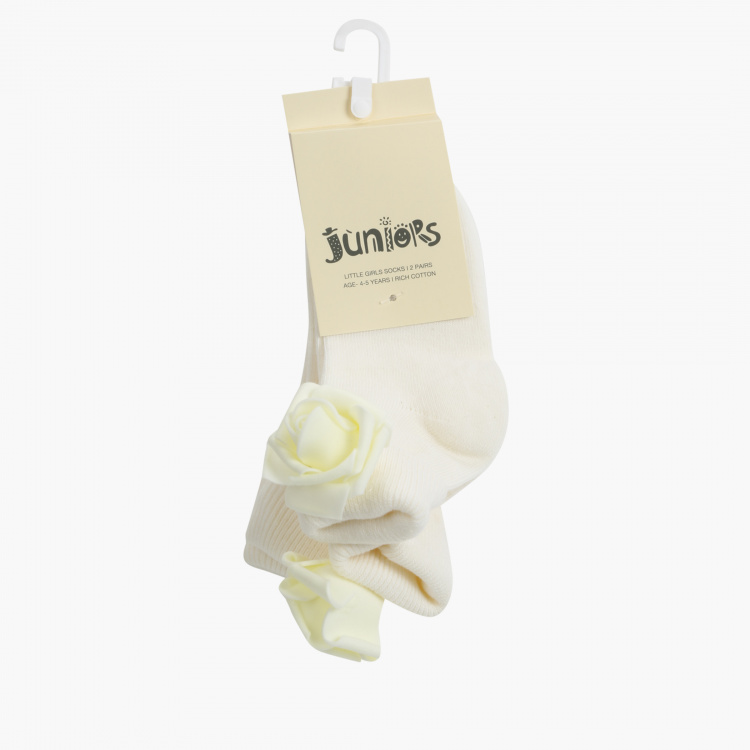 Juniors Ankle Length Socks - Set of 2