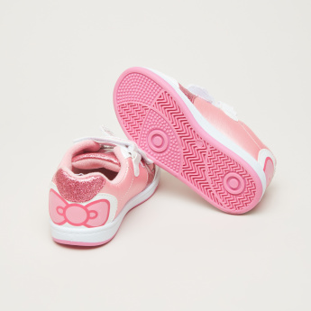Hello Kitty Applique Detail Sneakers with Print