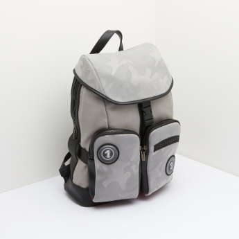 Lee Cooper Backpack with Camouflage Print