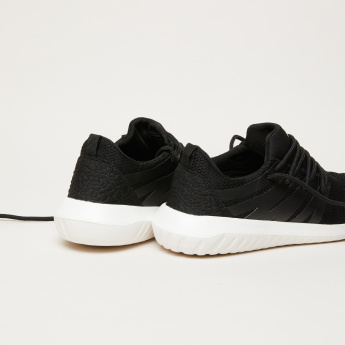 Women's Textured Lace Up Walking Shoes