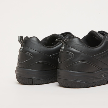 Perforated Walking Shoes with Stitch detail