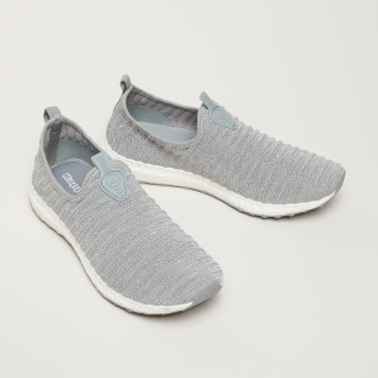 Kappa Women's Textured Slip On Walking Shoes